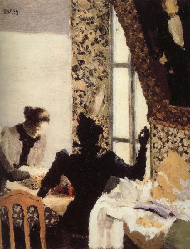 Edouard Vuillard Threading